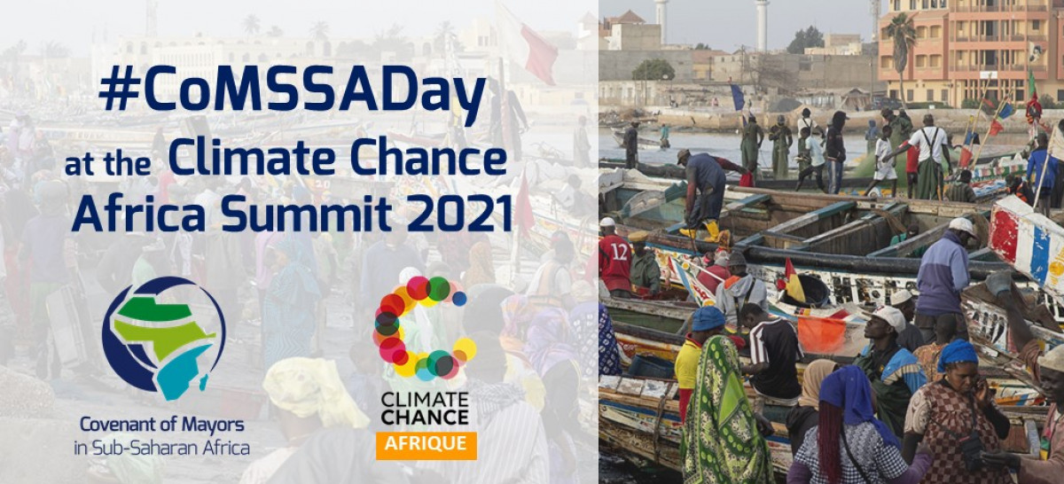 CoM SSA Day at Climate Chance Summit Dakar 2021