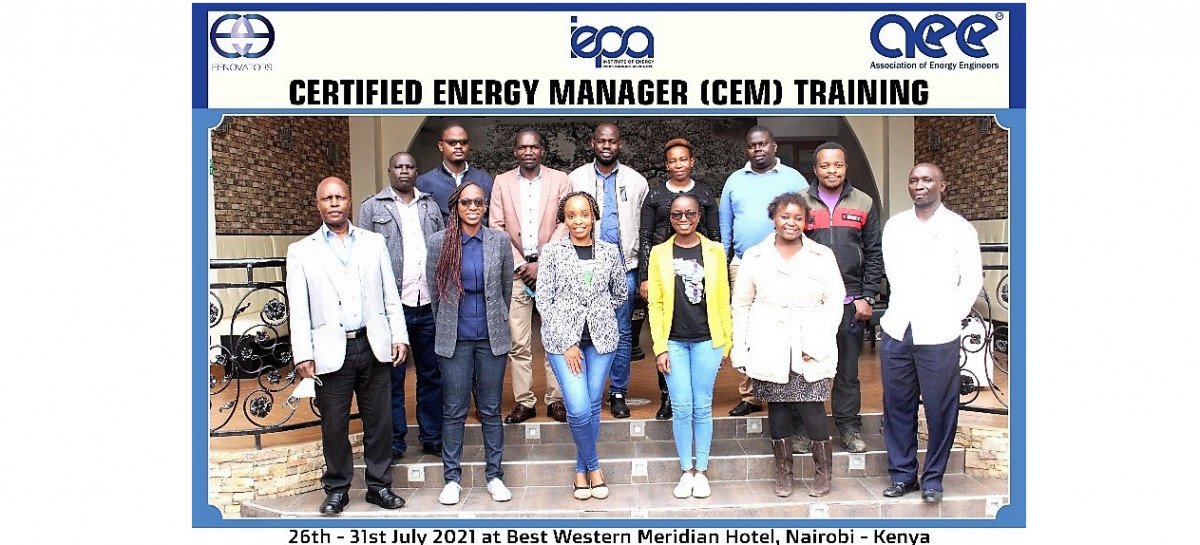 Kisumu County officials trained in sustainable energy management strategies