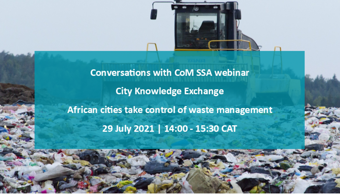 Conversations with CoM SSA: African cities take control of waste management