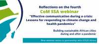 Effective communication: Lessons for responding to climate change and health pandemics