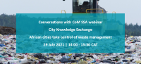 Conversations with CoM SSA webinar | African cities take control of waste management
