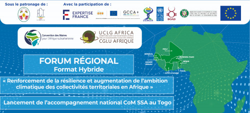 Launch of the support to CoM SSA signatory cities in Togo on the sidelines of upcoming Regional Forum